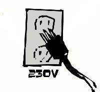 Elektryzatory zasilane na 230V