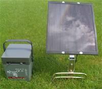 Elektryzatory z panelem słonecznym